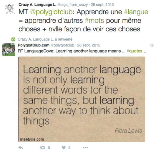 Language learning philosophy