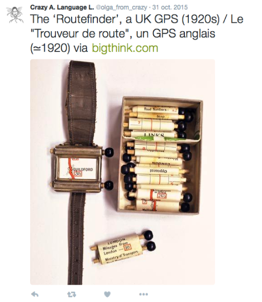 Old UK GPS