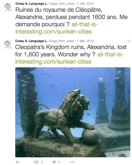 Underwater ruins of Alexandria