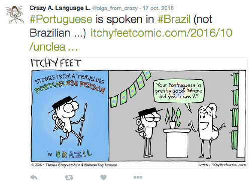 ItchyFeet Comic portugais