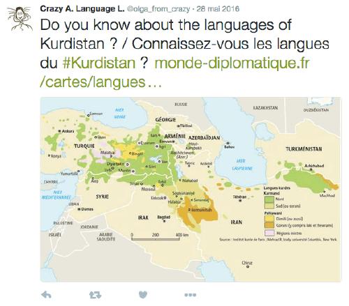 Langues du Kurdistan