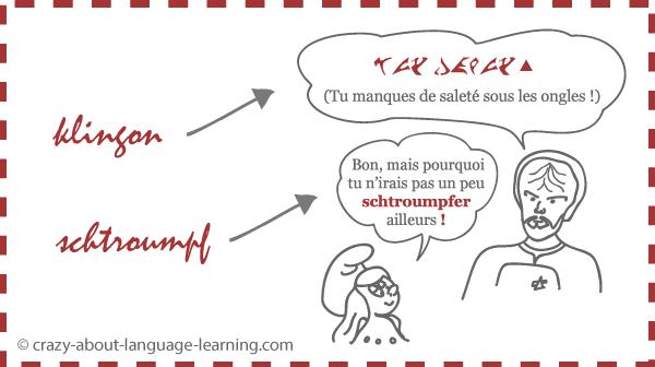 Langues imaginaires : une expression klingonne + une autre universelle
