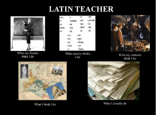 Latin teacher