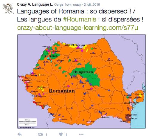 Langues de Roumanie