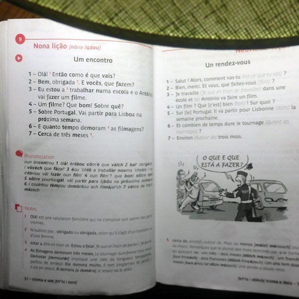Mon livre Assimil pour le portugais
