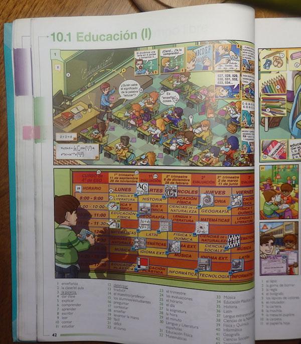 Mon livre de vocabulaire en espagnol
